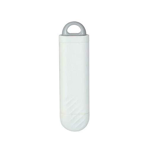 JHYS Tierhaarentferner, tragbare doppelseitige elektrostatische Entfernungsbürste für Bettlaken Teppichbekleidung Tierhaarentfernungswerkzeuge (Weiß)