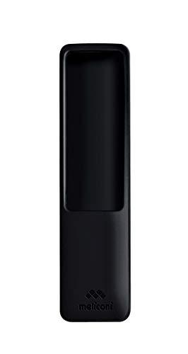 Meliconi Guscio 9 in silicone per telecomando TV Samsung, nero