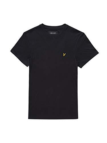 Lyle & Scott Herren Crew Neck T-Shirt, Schwarz (True Black 572), Medium