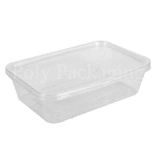 Microwave Food Takeaway Containers 650 ml- Pack of 50