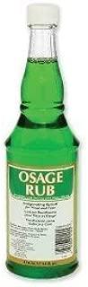 Clubman Osage Rub Invigorating Splash for Head and Face Facial Astringents ( 14 fl.oz / 414 mL)