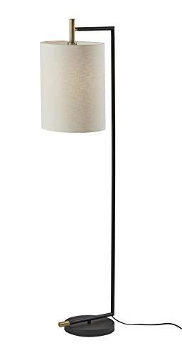 Adesso 4259-01 Garrett Floor Lamp, Brass