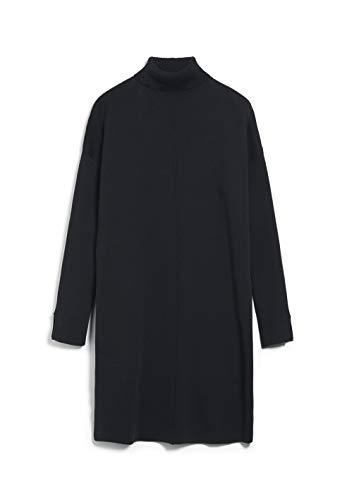 ARMEDANGELS SIENNAA - Damen Strickkleid aus Bio-Baumwolle XS Black Kleider Strick Loose fit