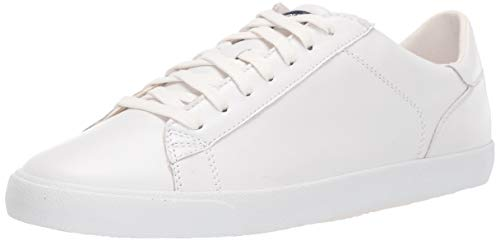 Cole Haan womens Carrie Sneaker, Optic White Leather, 7.5 US