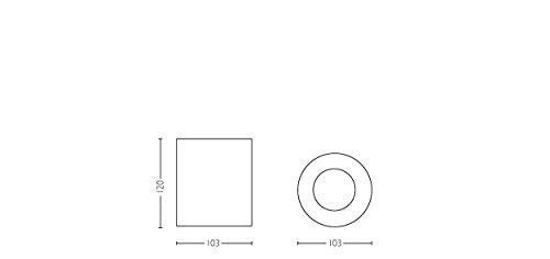 PHILIPS hue Ambiance LED Aufbaustrahler dimmbar | runde Deckenleuchte Spot weiss | inkl. GU10 LED 5,5W 350 Lumen | warmweiß kaltweiß 2200-6500K 4er Set mit Dimmschalter - 6