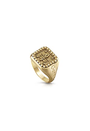 Anello Guess jewelly man squared signet giglio ring size 62 UMR70005-62