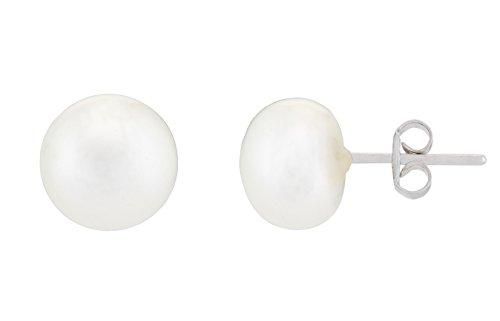 Alexandra Plata Pendientes Pearl
