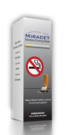 Miracet Stop Smoking System All Natural Homeopathic Quit Smoking