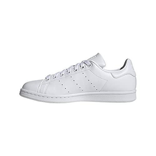 adidas Originals Women's Stan Smith (End Plastic Waste) Sneaker, White/White/White, 9.5