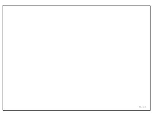 Edition Seidel Schreibtischunterlage Wochenplaner Papier zum Abreißen DIN A3 To Do Schreibunterlage 25 Blatt Papierunterlage Abrissblock Wochenplaner Schreibtisch Tischunterlage (Blanko)