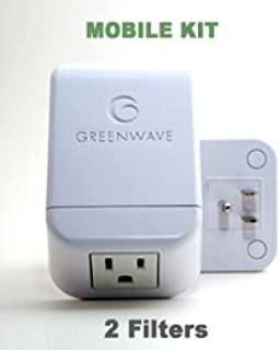 Greenwave Dirty Electricity Filters: Mobile Travel Kit (2 filters)