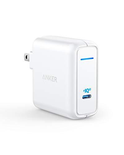 Anker PowerPort Atom III 60W(PD対応 60W USB-C 急速充電器)【PSE技術基準適合/PowerIQ 3.0 / GaN (窒化ガリウム) 採用/折りたたみ式プラグ】 iPhone 11 / 11 Pro / 11 Pro Max/XR / 8 、 Galaxy S10 / S10+、MacBook Pro、その他USB-C機器対応