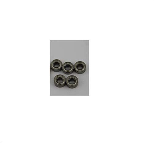 TONGTAIRUI-LIGHTS 50 rodamientos miniatura MR72ZZ ABEC-1 2x7x3mm MR72 ZZ rodamientos de bolas WML2007 ZZX