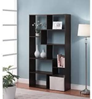Mainstays Home 8-Shelf Bookcase, Brown