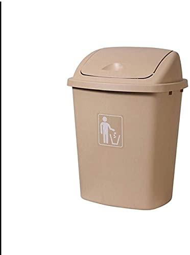 DZCGTP Papelera de Reciclaje de residuos/Papelera para Exteriores Bote de Basura con Gran Capacidad Bote de Basura de Cocina Bote de Basura de Aula para el hogar Bote de Basura de Cocina