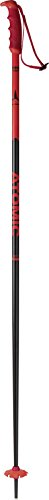 ATOMIC Redster 1 Par de Bastones de esquí de competición, Carbono, Unisex, Rojo/Negro, 120 cm
