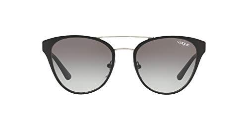 Vogue Eyewear 0VO4078S 352/11 53 Occhiali da Sole, Nero (Black/Silver/Greygradient), Donna