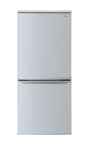 シャープ SHARP 冷蔵庫 137L(幅48cm) つけかえどっちもドア シルバー系 SJ-D14D-S