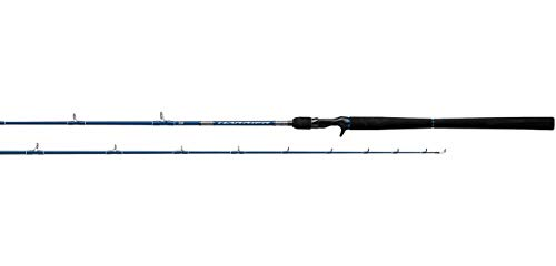 Daiwa HRJ64HS Rod-Harrier Jigging Series, Sections= 1, Line Wt.= 50-80 Braid, Multicolor, One Size