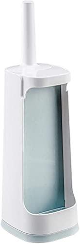 LBMTFFFFFF Cepillo de Inodoro Y Soporte el Juego de Cepillo de Inodoro Puede Contener Suministros de Limpieza Juego de Limpieza de Cepillo de Inodoro de Pie Adecuado para Habitaciones con Espacios Pe