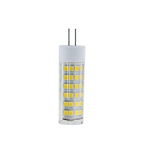 Lampadina Mais 10 pezzi G9 LED.Lampada 5W 8W 12W G4 E14 Ceramica GUIDATO Luci della lampadario di cristallo della capsula della lampadina di mais (Color : Cold white)