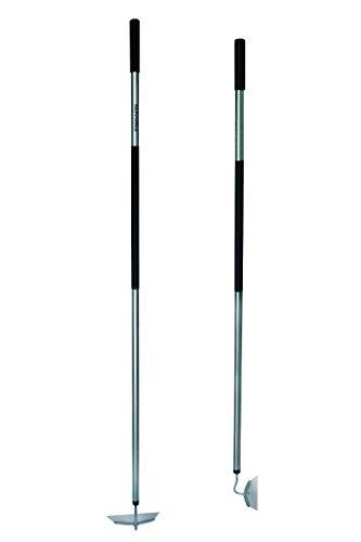 Fiskars Zappa, Lunghezza: 155 cm, Larghezza: 18,5 cm, Testa in acciaio/Manico in alluminio, Nero/Grigio, Ergonomic, 1000675
