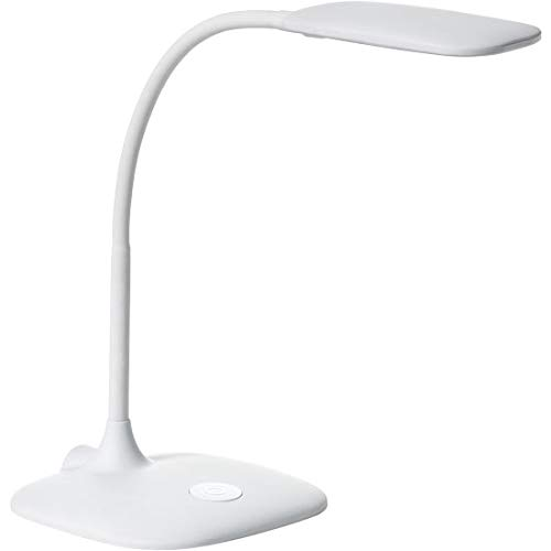 Lámpara de mesa flexo Bet blanco LED 6,5W: Amazon.es: Iluminación