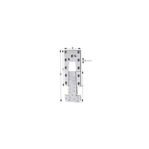 Simpson ETB90-B Hirnholzverbinder ETB 90-B Aluminium mit Zulassung