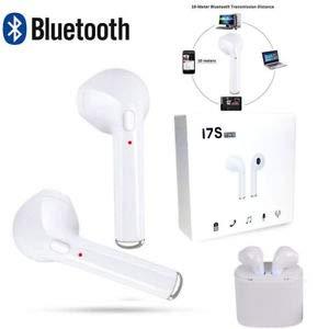 Auriculares Bluetooth inalámbricos para deporte/estéreo/audífonos a prueba de sudor con cancelación de ruido compatible con iPhone X/8/8 Plus/7/6, Samsung S9/S8/S7 Note 8/7 Android