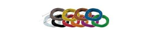 ESU 51949 Hochflexibles Kabel, Farbe blau
