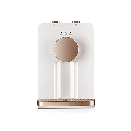 Sdesign Dispensador de Agua Caliente eléctrica, Mini dispensadores de Agua del hogar, Agua de Temperatura Normal y dispensadores de Agua Caliente, Mesa de Mesa para el hogar. (Color : Ice Warm Type)