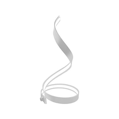 J+N JN eenvoudige tafellamp voor thuis, slaapkamer, bedlampje, eenvoudig modern glas, romantische en warme, grote tafellamp