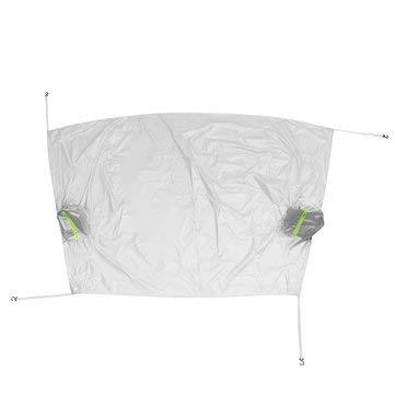 RanDal Auto Sonnenschutz Windschutzscheibe Windschutzscheibe Abdeckung Frost Schnee Sun Shield Window Mirror Protector - Silber