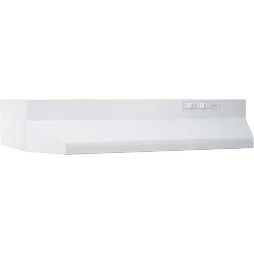Broan 403001 ADA Capable Under-Cabinet Range Hood, 30-Inch, White FREE2DAYSHIP