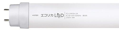 エコリカ 蛍光灯型LED ECL-LD4EGN-L3A(昼白色相当) ECL-LD4EGN-L3A