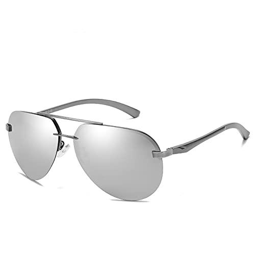 XJBQ Gafas de sol polarizadas para hombres y mujeres, para vacaciones al aire libre, pesca, moda antiluz azul, gafas de sol sostenibles de materiales reciclables, ligeras y flexibles
