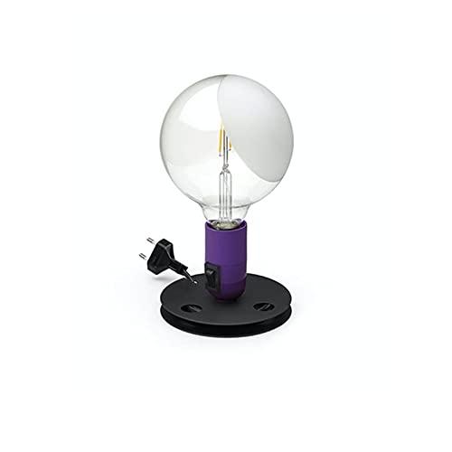 Flos Bombilla LED lámpara de mesa New Color Designed by Achille Castiglioni - Morado