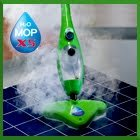 Elite H2O X5 5 in 1 Steam Mop for Floor Cleaning (Green)