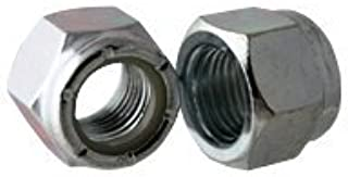 Nylon Insert Locknut #10-24 Coarse Thread Nyloc NM Standard Stainless Steel 18-8 Pk 100