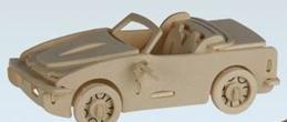 Auto Puzzle 3D Straßenflitzer Holz