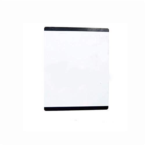 Pizarra pequeña lateral de color, etiqueta engomada de refrigerador A3, pizarra magnética de mensaje adsorbido en superficie de hierro (Color : 10)