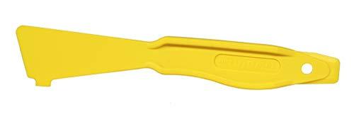 WEICON 52800001 Easy Opener Hebelwerkzeug Stabiler Gehäuseöffner Multitool gelb
