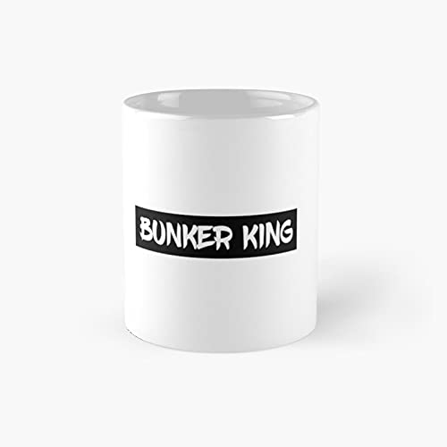 Bunker King War.zo.ne Classic Mug - Ceramic Coffee White (11 Ounce) Tea Cup Gifts For Bestie, Mom And Dad, Lover, Lgbt