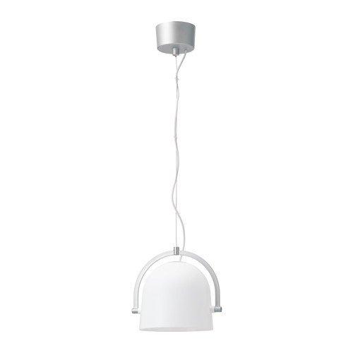 IKEA SVIRVEL Hängeleuchte in weiß; A++; (22cm)