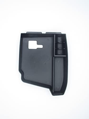 Caja portaobjetos reposabrazos coche compatible con BMW Serie 5 F10 2010 – 2016 compartimento organizador secundario de reposabrazos para almacenamiento
