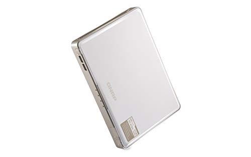 QNAP TBS-453DX-8G, Quad-Core 4-Bay M.2 SATA SSD NASbook, 4K @ 60Hz-HDMI-2.0, weißgrau