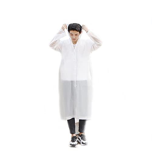 LWZ Touristischer Outdoor-Wanderponcho Mode für Erwachsene Männer und Frauen Dicker Regenmantel