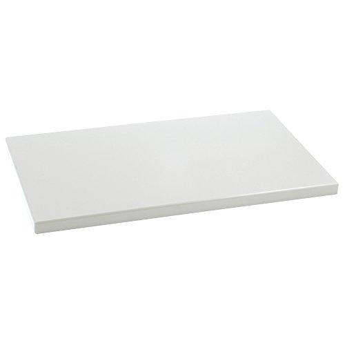 Metaltex - Tabla de cocina, Polietileno, Blanco, 50 x 30 x 2 cm