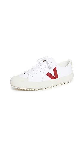 Veja Zapatillas Nova Hombre, blanco (Blanco/Marsala), 43 EU