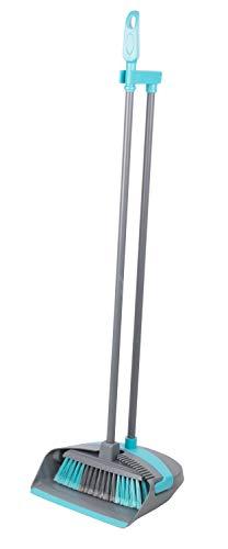Alpina Bezem en Blik – Kunststof – Lichtgewicht – 92 cm